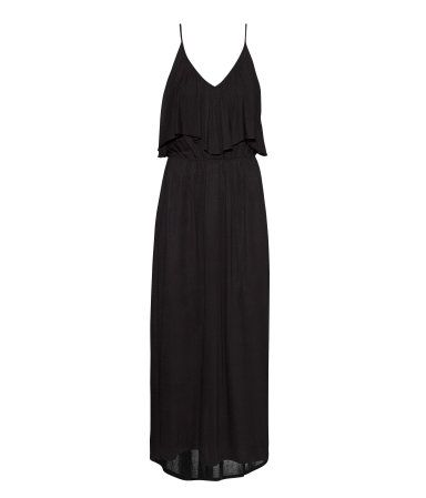 Black maxi dress. I love that these dresses are still on trend. H&M.