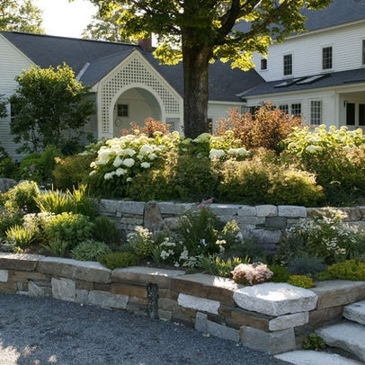 tiered landscaping outdoors