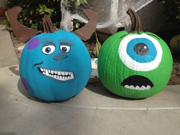 Pumpkin Monsters Sully University Carving