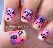 cute halloween nail design nails