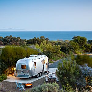 Gypsy Living Traveling In Style| Serafini Amelia| The new RV road trip What's it like to haul an Airstream 300 miles up the California coast? Romantic, nail-biting, and yes, cooler than driving a convertible. Get our road rules and route