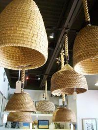 basket pendant lights