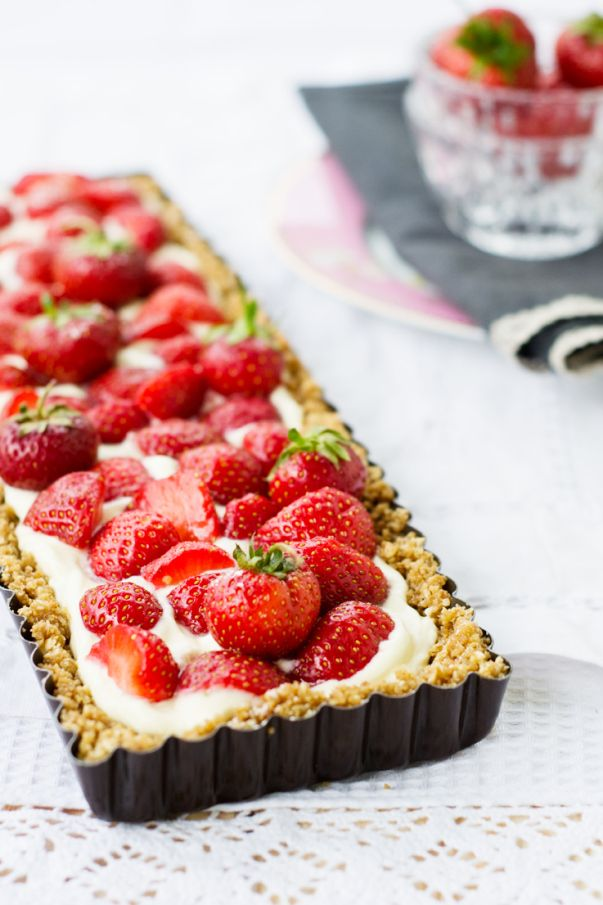 Strawberry Mascarpone Tart Recipe Dishmaps