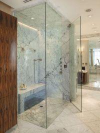 Curbless Shower Design, Steam shower | Bathe & Powder ...