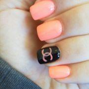 chanel nail design. nails