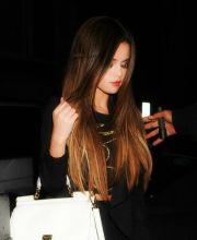 selena gomez beautiful hair ombre