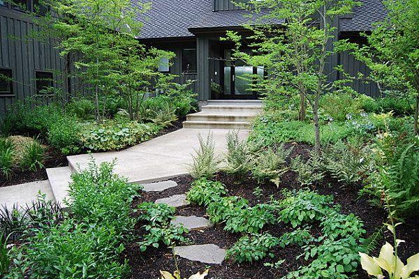 natural landscaping cottage