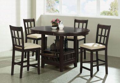 Black Kitchen Bar Table
