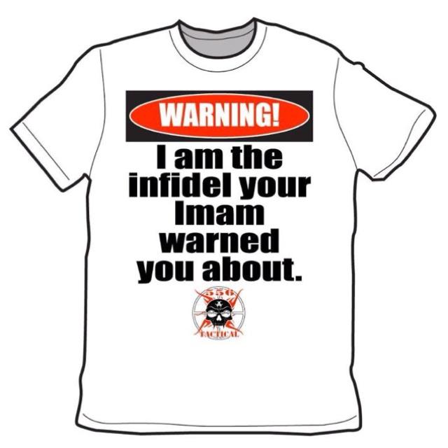I am the infidel...