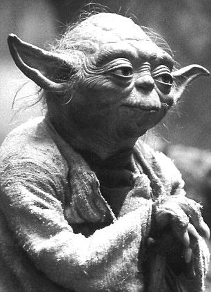 """Luminous beings are we, not this crude matter!"" - Yoda"