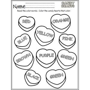 Conversation Candy Hearts Coloring Pages Coloring Pages