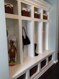 built in entry coat rack | For the Home | Pinterest