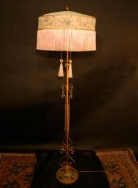 Antique 1920s Floor Lamps | Car Interior Design