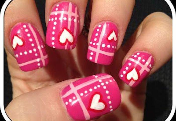 Imagina Y Recicla Uñas Para San Valentín