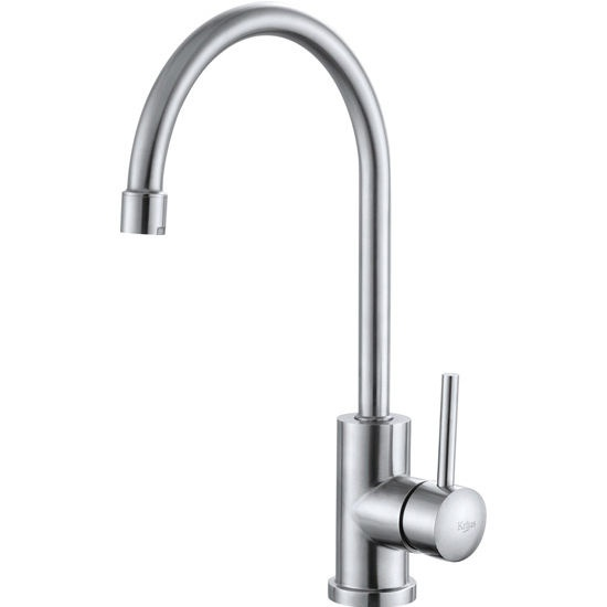 Kraus Single Lever Gooseneck Kitchen Faucet