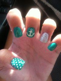 Cruise nails! | Hair & Beauty | Pinterest