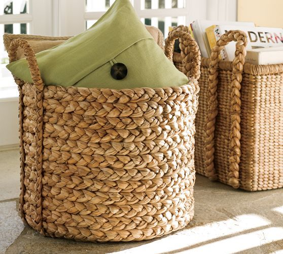 Beachcomber Extra-Large Round Basket | Pottery Barn