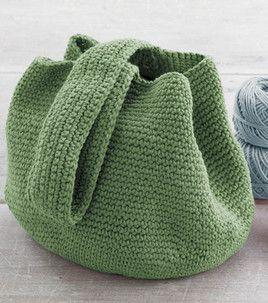 Pattern for simple crochet bucket bag
