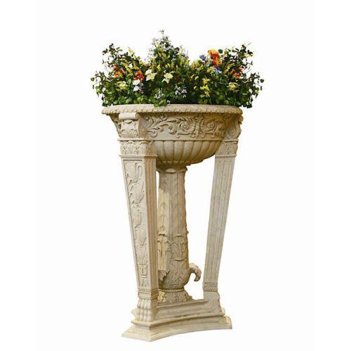 Tall Pedestal Planters