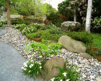 River Rock Flower Bed Designs - Home Design Elements