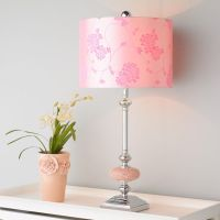 Pretty in Pink Mosaic Table Lamp | Pretty in Pink | Pinterest