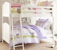 Bunk beds from @Pottery Barn Kids | Girls' room | Pinterest