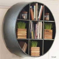 Round Metal Hanging Shelf | Home - Living Room | Pinterest