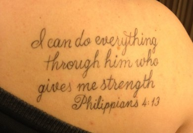 Tattoo Bible Verses For Girls Quotes Search Quotes