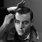 retro men's hairstyle vintage