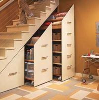 Shelves under the Stairs =) | For the Home | Pinterest