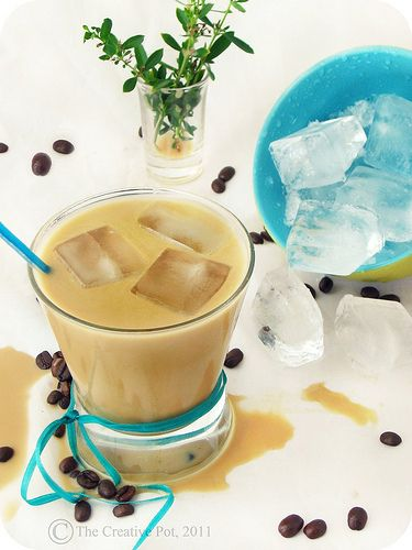 Coconut Iced Coffee f3-w by The Creative Pot, via Flickr