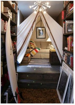 Living room tent