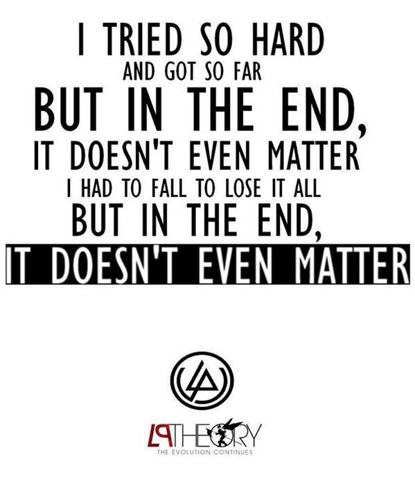 Linkin Park Song Quotes. QuotesGram