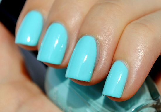 Kleancolor Pastel Teal My Nail Polish Collection