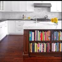 Kitchen bookshelf under the island  | New home ideas ...