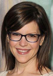 medium hair with glasses