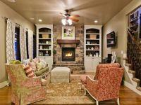 Cozy French country family room..