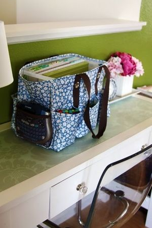 here is a patern for a diy utility tote