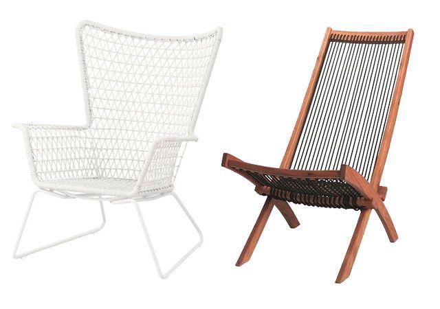 IKEA Outdoor Lounge Chairs