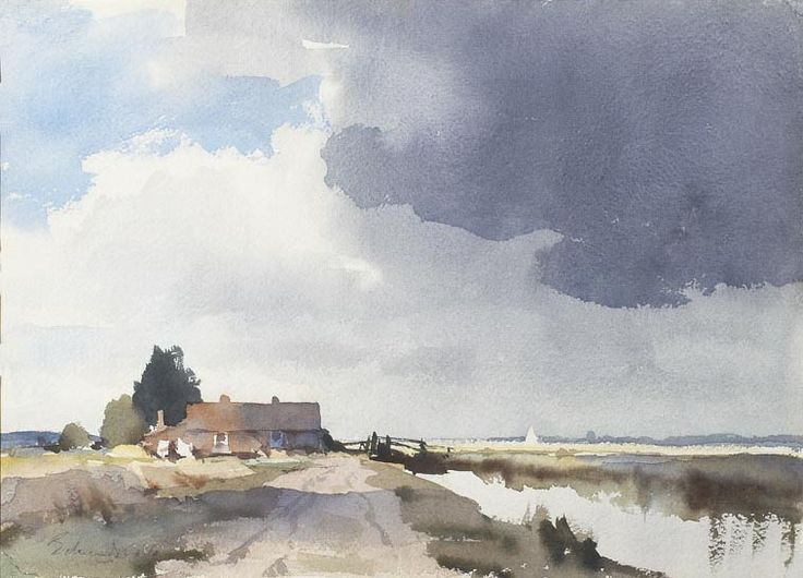 Edward Watercolours Seago