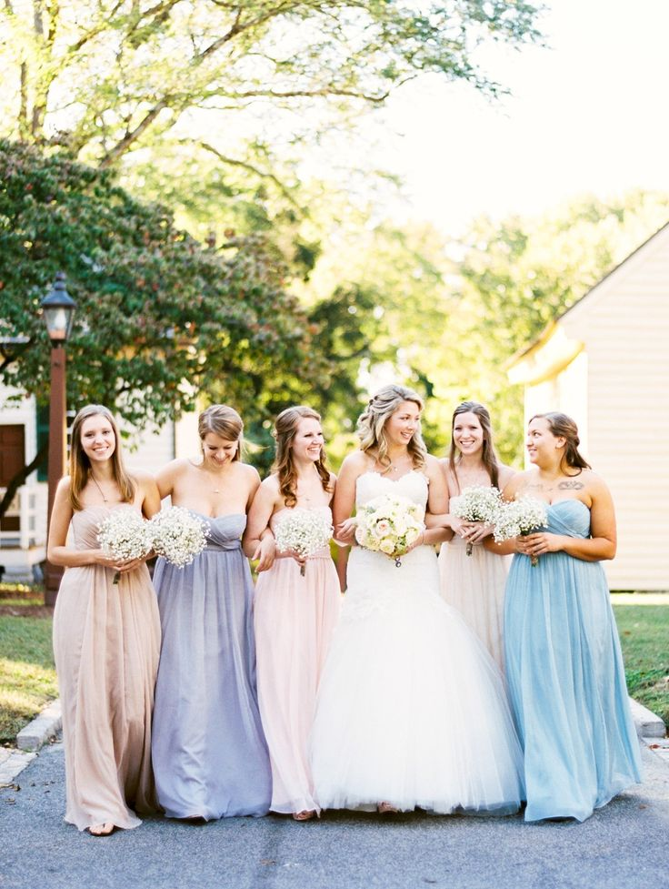 Pretty pastels....  Downtown Raleigh Wedding at the Stockroom at 230  Read more - http://www.stylemepretty.com/north-carolina-weddings/raleigh/2014/01/16/downtown-raleigh-wedding-at-the-stockroom-at-230/