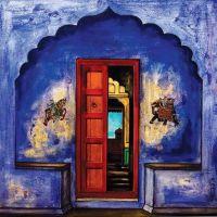 Wonderful paintings - south Indian doors | DOORS*ETC ...