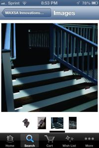 Deck Stair Solar Lighting | Landscaping, gardening and ...