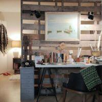 お宅拝見:木工家具作りのロシェルさんの、木のDIY満載の部屋