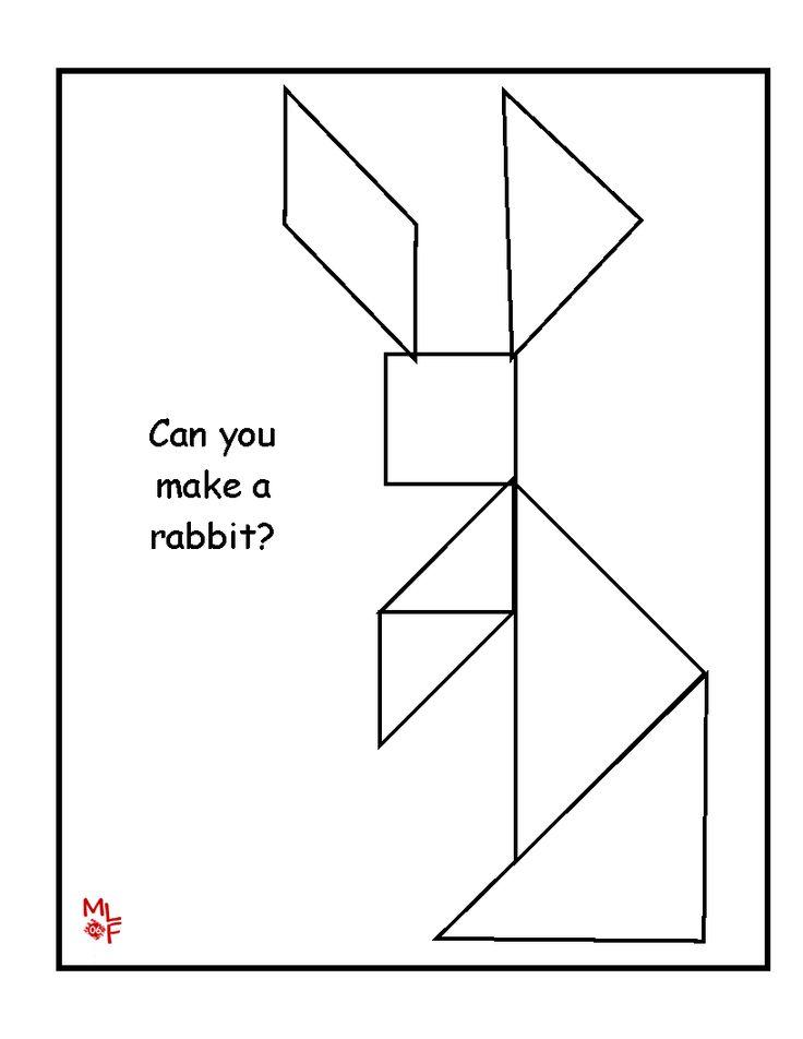 Easy Printable Tangram Patterns