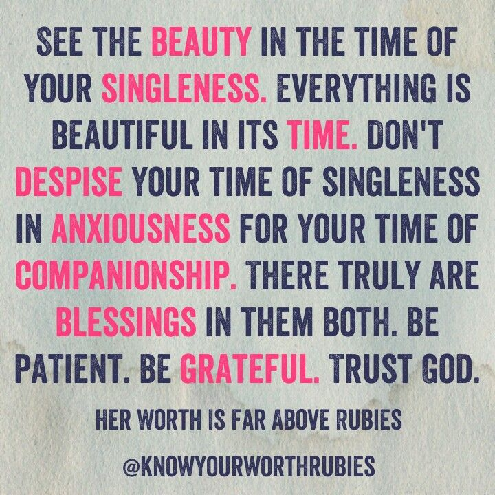 Single Christian Beauty Patience Grateful God