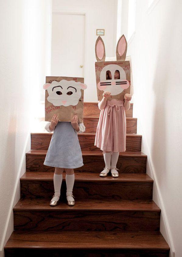 Brown Paper Sack Masks DIY