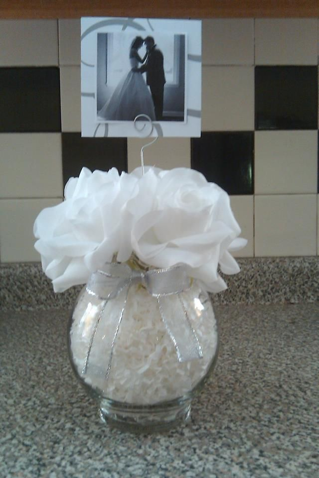25th Wedding Anniversary Table Centerpieces