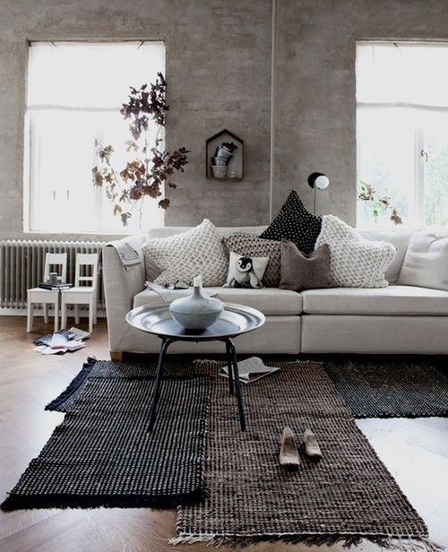 Modern eko... like the combination of rugs