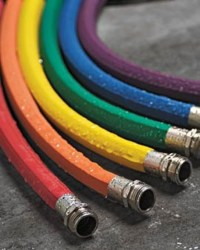 Colorful Rubber Garden Hoses